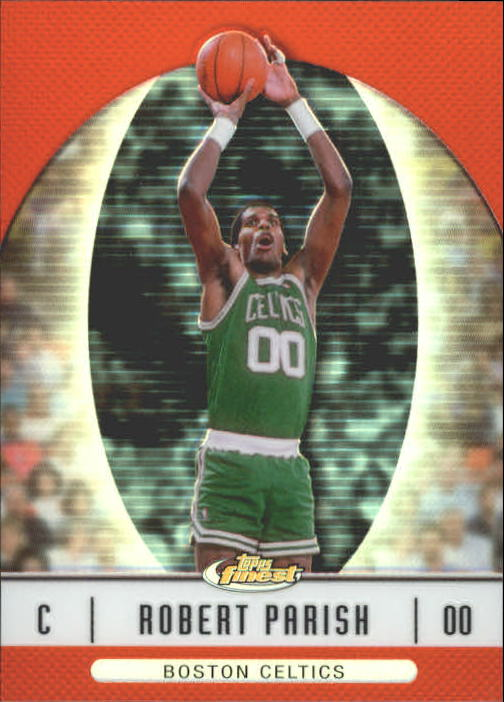 2006-07 Finest Refractors #45 Robert Parish