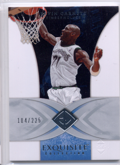 2006-07 Exquisite Collection #24 Kevin Garnett