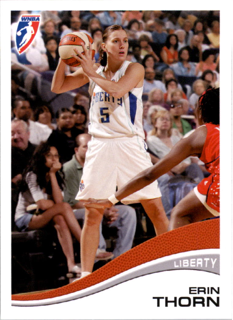 2007 WNBA #17 Erin Thorn RC