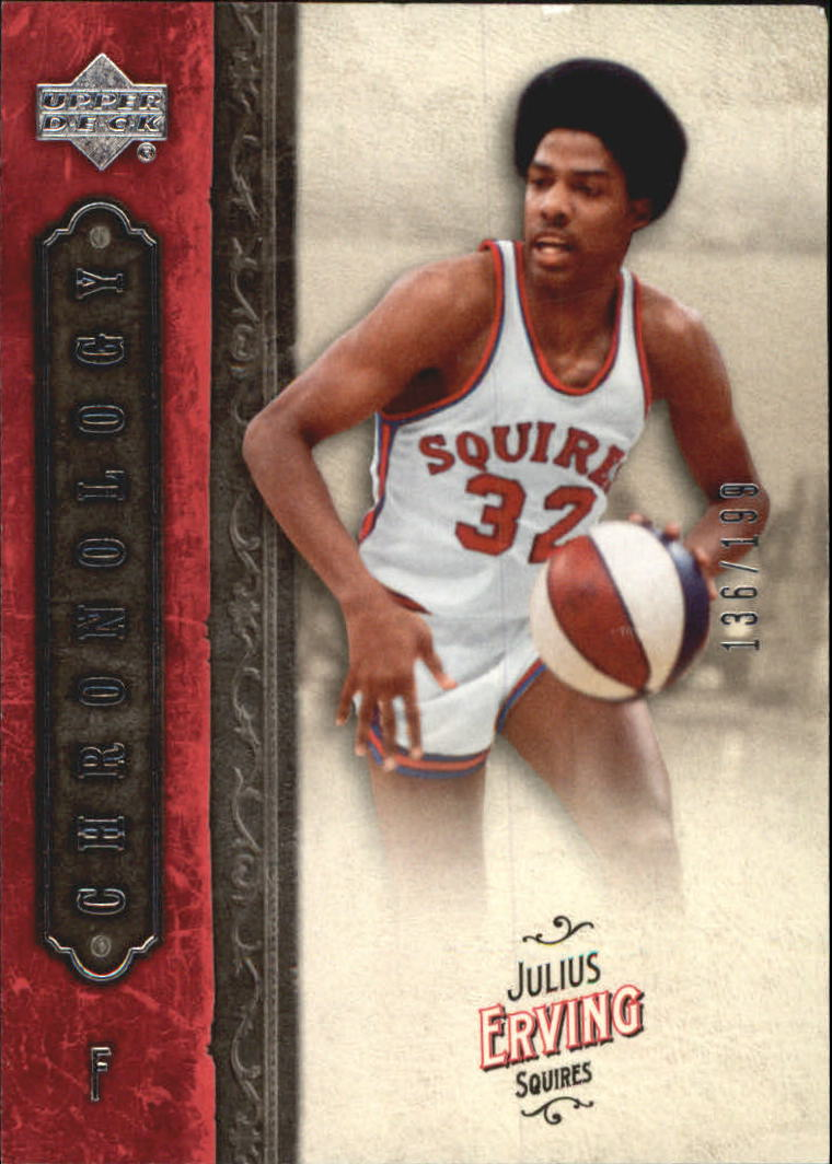 2006-07 Chronology #36 Julius Erving