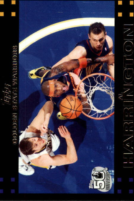 2007-08 Topps #12 Al Harrington