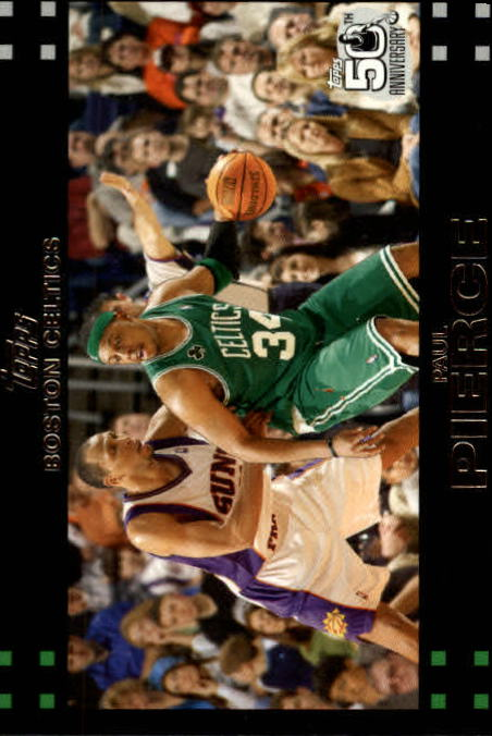 2007-08 Topps #34 Paul Pierce