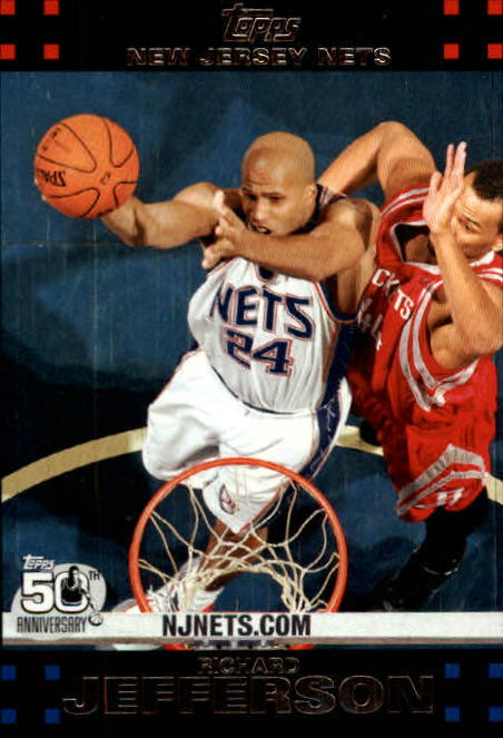 2007-08 Topps #95 Richard Jefferson