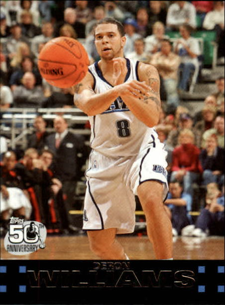 2007-08 Topps #99 Deron Williams