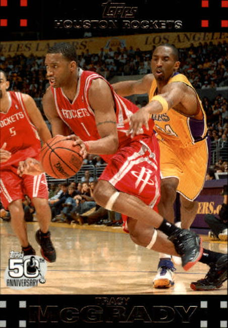 2007-08 Topps #101 Tracy McGrady