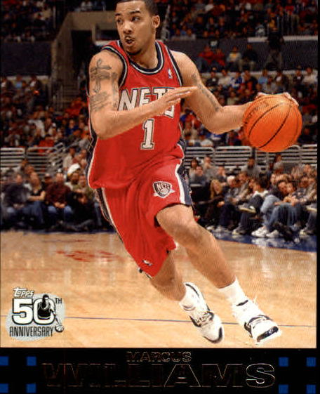 2007-08 Topps #105 Marcus Williams front image