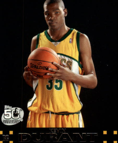 2007-08 Topps #112 Kevin Durant RC