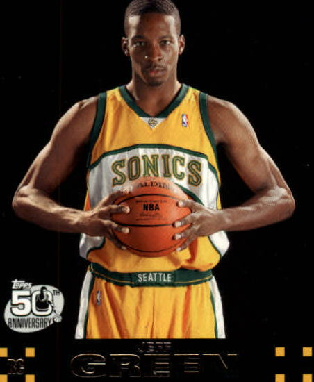 2007-08 Topps #115 Jeff Green RC