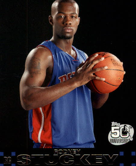 2007-08 Topps #125 Rodney Stuckey RC