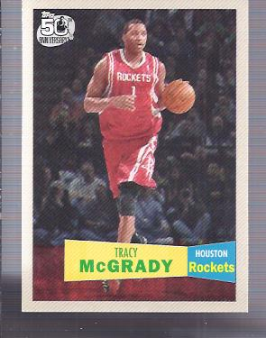 2007-08 Topps 1957-58 Variations #101 Tracy McGrady