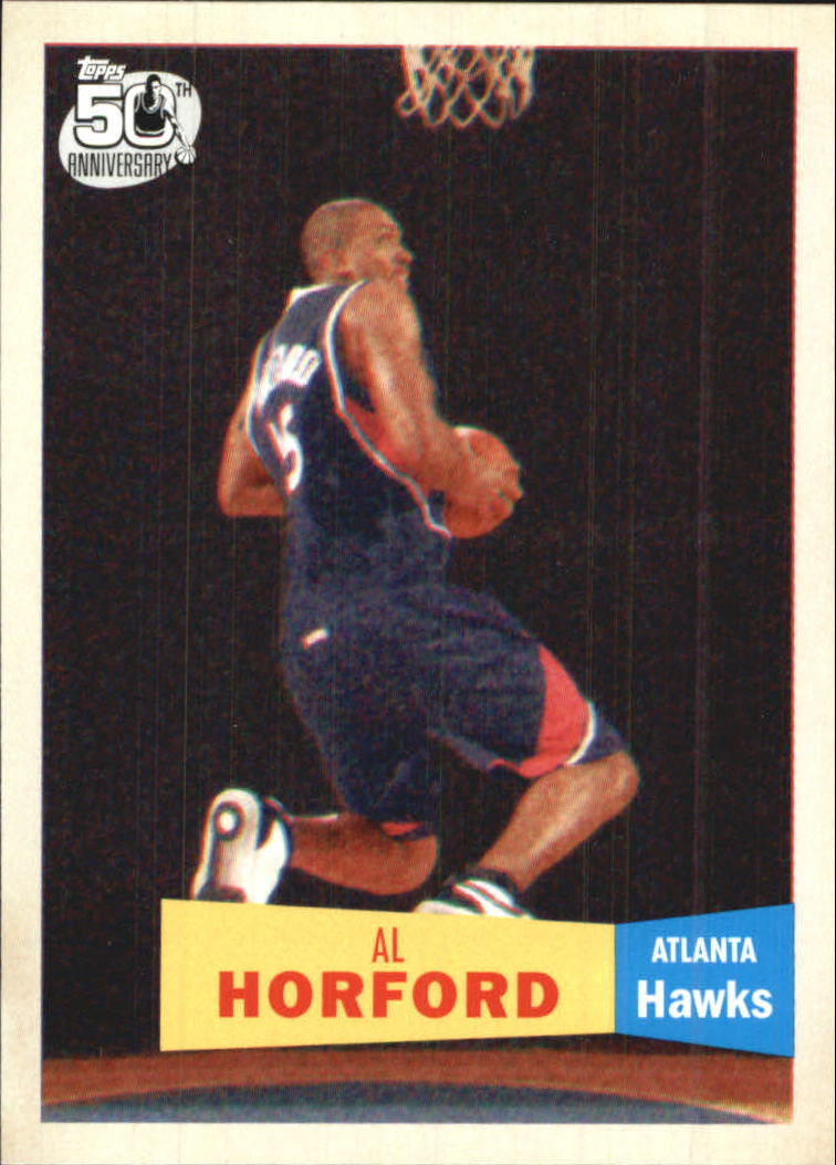 2007-08 Topps 1957-58 Variations #113 Al Horford