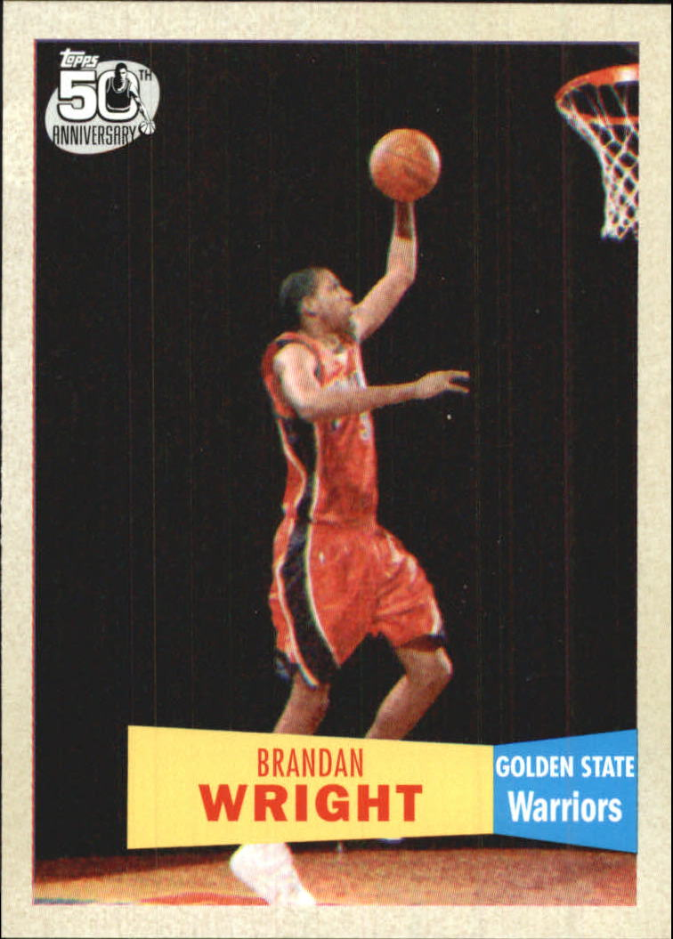 2007-08 Topps 1957-58 Variations #118 Brandan Wright