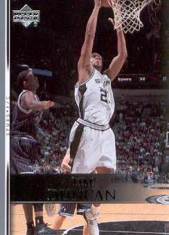 2007-08 Upper Deck #175 Tim Duncan