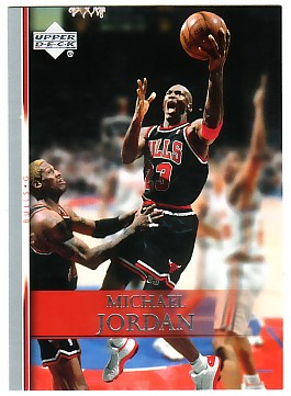 2007-08 Upper Deck #191 Michael Jordan
