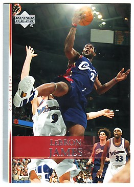2007-08 Upper Deck #192 LeBron James