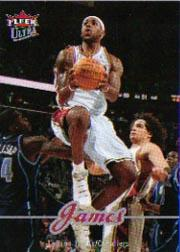2007-08 Ultra SE #28 LeBron James