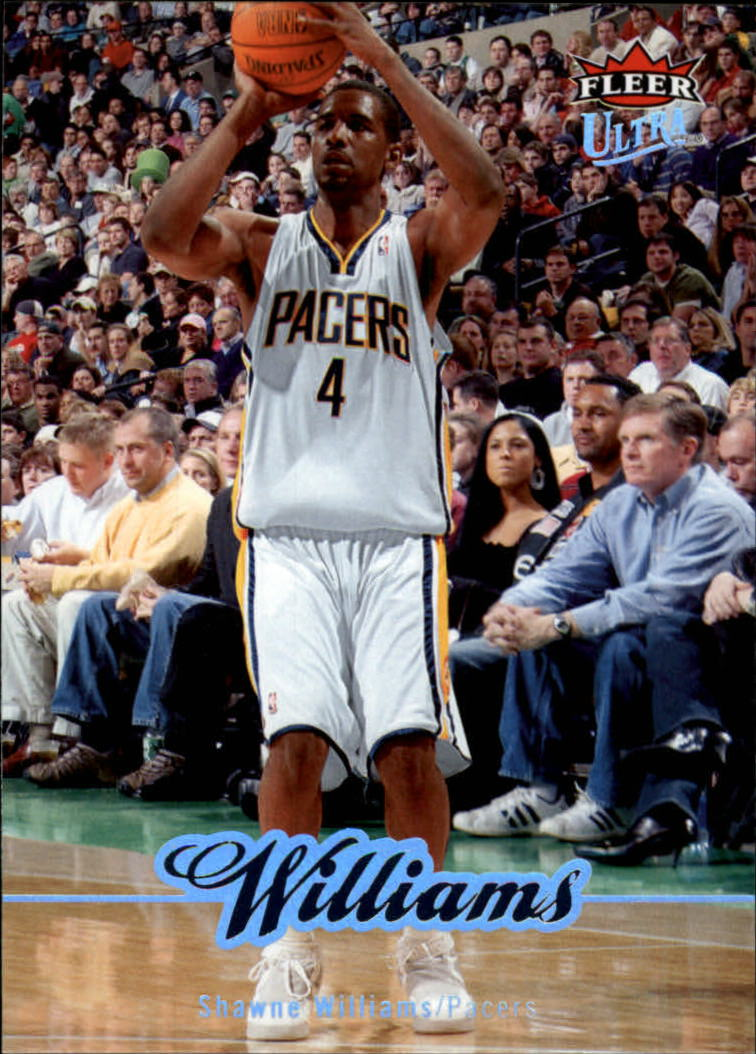 2007-08 Ultra SE #73 Shawne Williams
