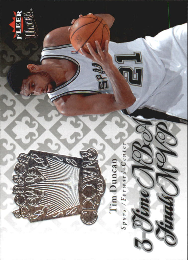 2007-08 Ultra SE Season Crowns #SC1 Tim Duncan