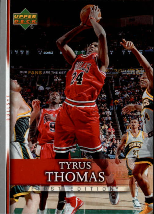 2007-08 Upper Deck First Edition #118 Tyrus Thomas