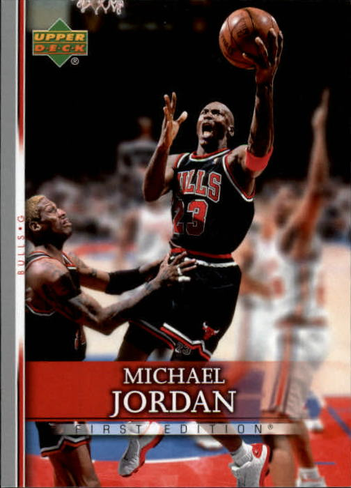 2007-08 Upper Deck First Edition #191 Michael Jordan