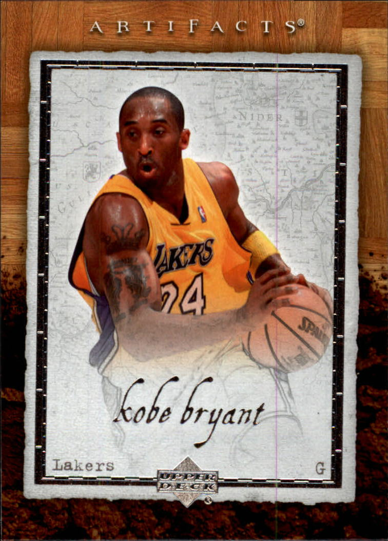 2007-08 Artifacts #40 Kobe Bryant