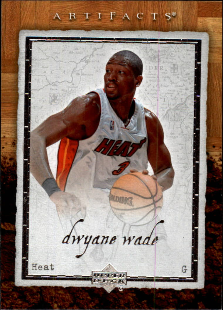 2007-08 Artifacts #47 Dwyane Wade