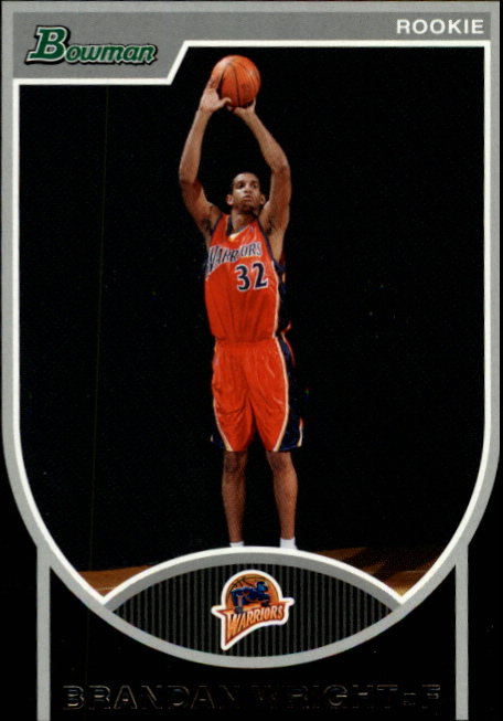 2007-08 Bowman #160 Brandan Wright RC