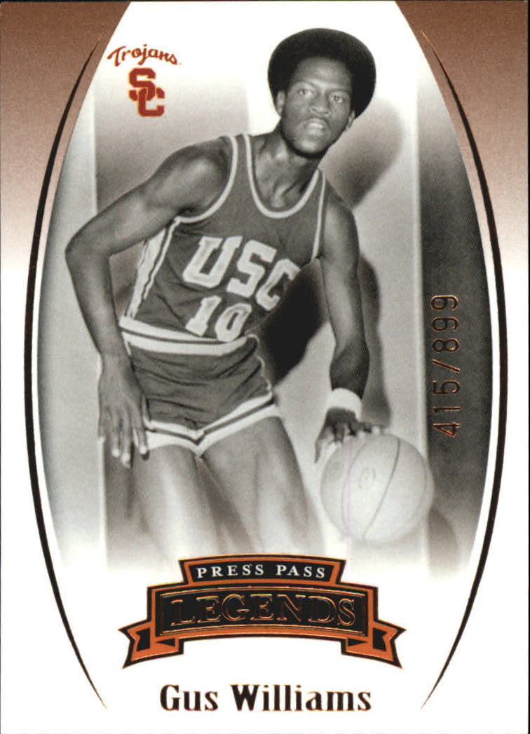 2007-08 Press Pass Legends Bronze #64 Gus Williams