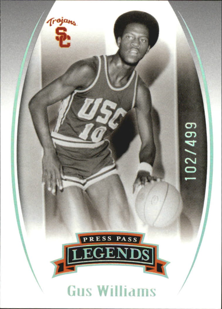 2007-08 Press Pass Legends Silver #64 Gus Williams