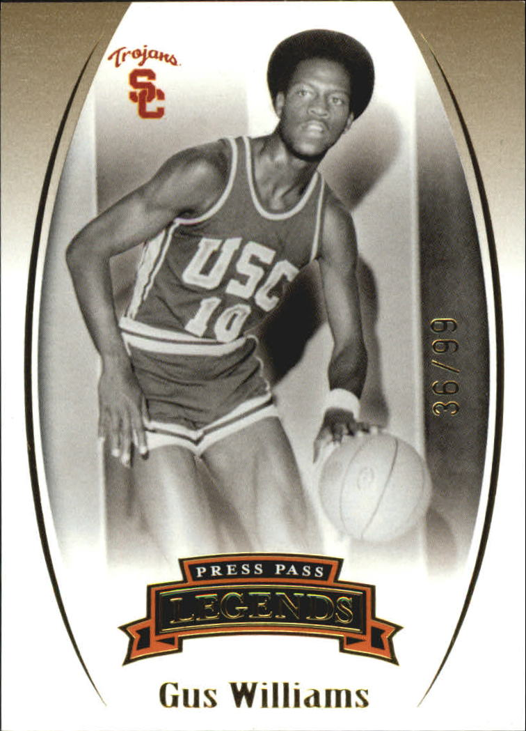 2007-08 Press Pass Legends Gold #64 Gus Williams