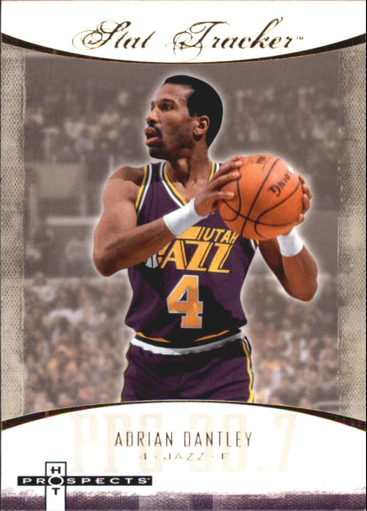 2007-08 Fleer Hot Prospects Stat Tracker #2 Adrian Dantley