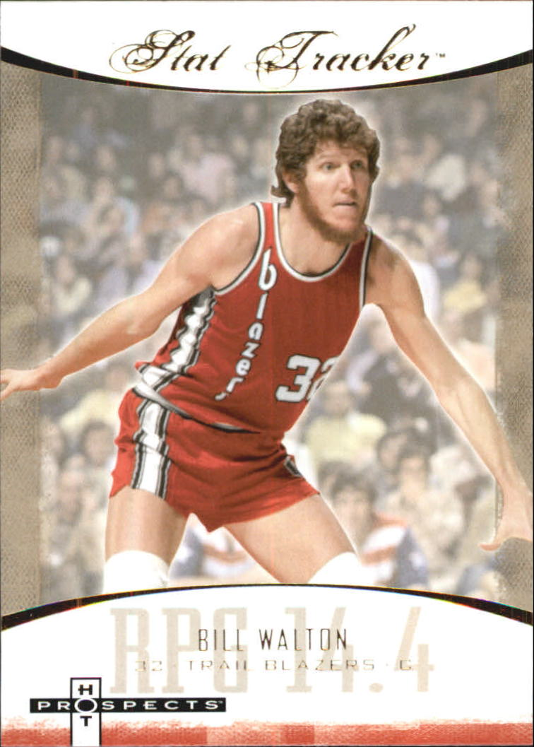 2007-08 Fleer Hot Prospects Stat Tracker #11 Bill Walton