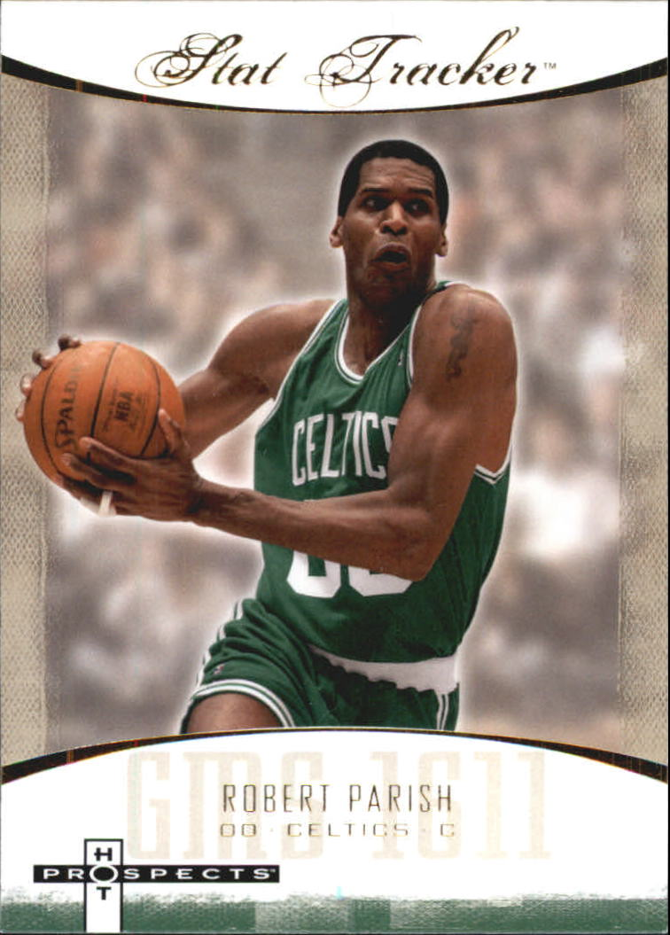 2007-08 Fleer Hot Prospects Stat Tracker #29 Robert Parish