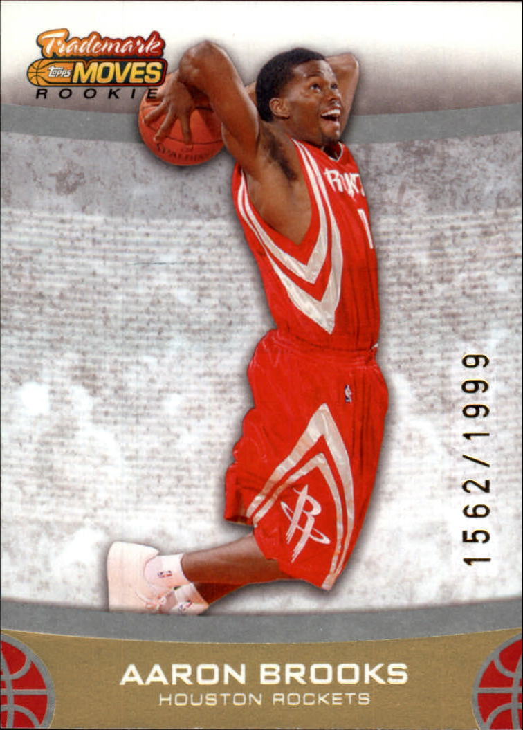 2007-08 Topps Trademark Moves #89 Aaron Brooks RC