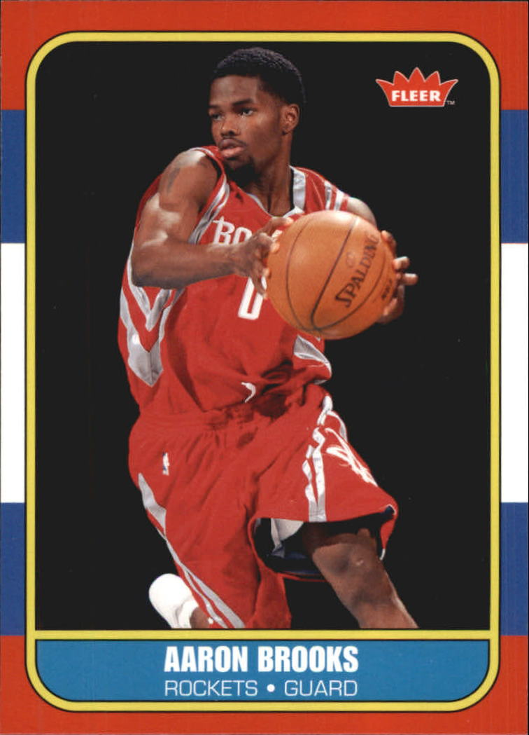 2007-08 Fleer 1986-87 Rookies #136 Aaron Brooks