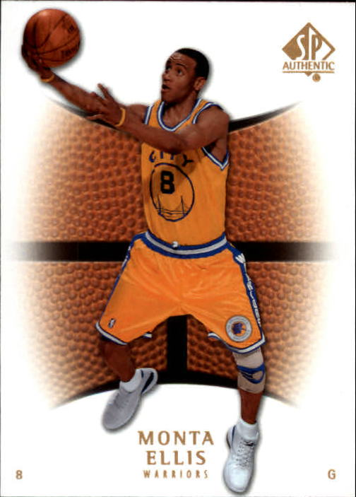 2007-08 SP Authentic #58 Monta Ellis