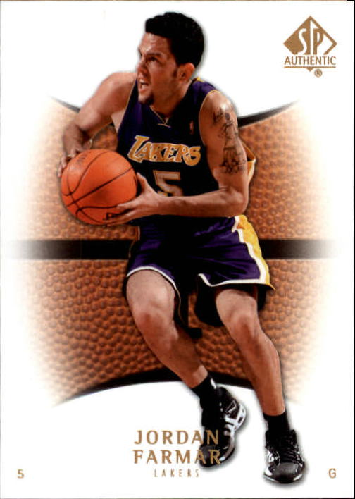 2007-08 SP Authentic #60 Jordan Farmar