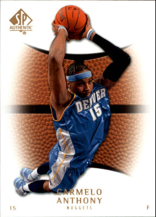 2007-08 SP Authentic #67 Carmelo Anthony