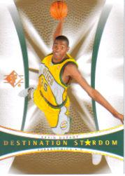 2007-08 SP Authentic Destination Stardom #DS1 Kevin Durant