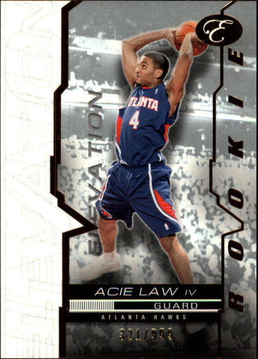 2007-08 Bowman Elevation #55 Acie Law RC