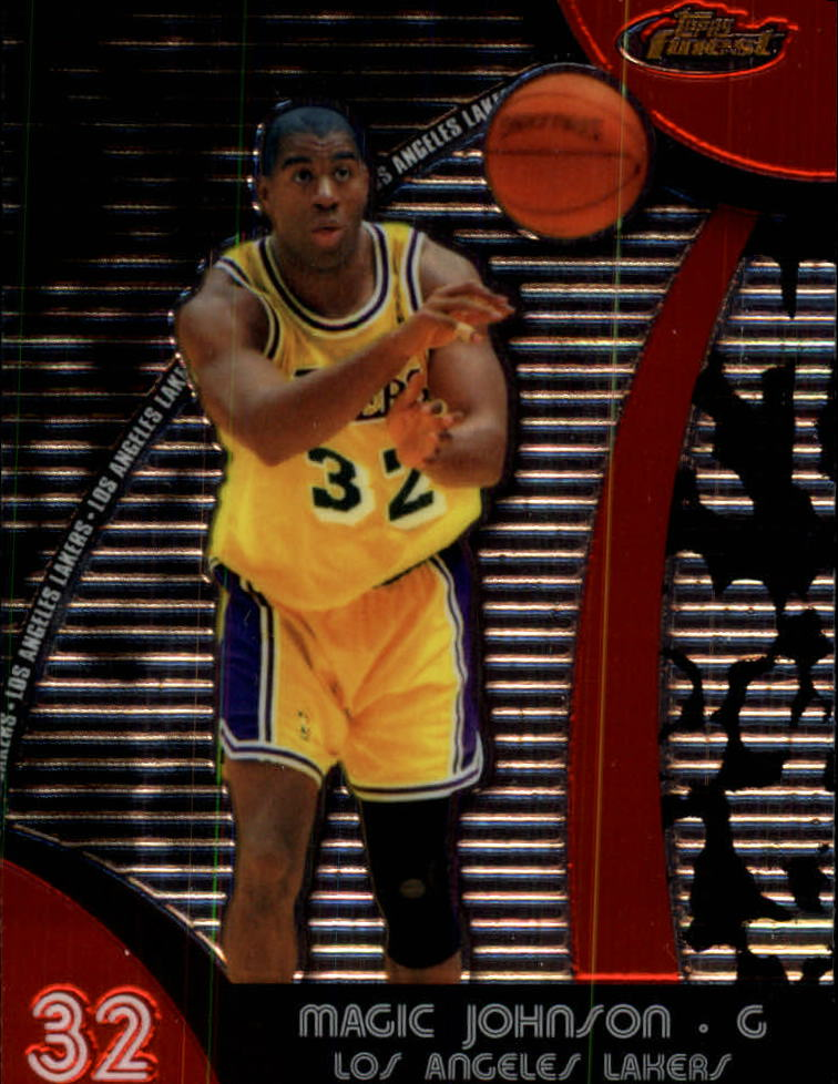 2007-08 Finest #43 Magic Johnson