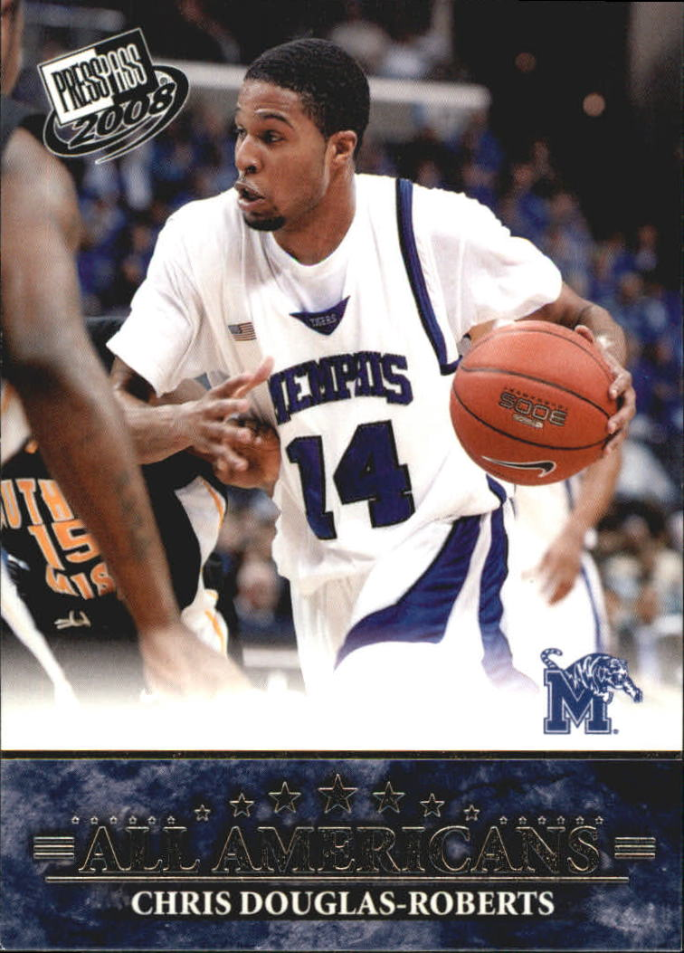 2008 Press Pass #51 Chris Douglas-Roberts AA