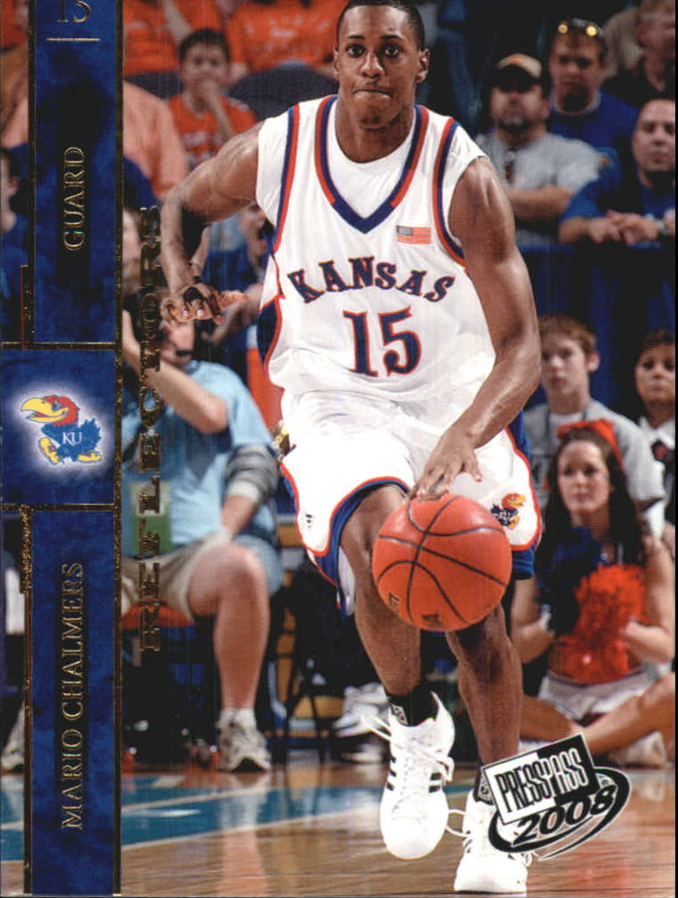 2008 Press Pass Reflectors #4 Mario Chalmers