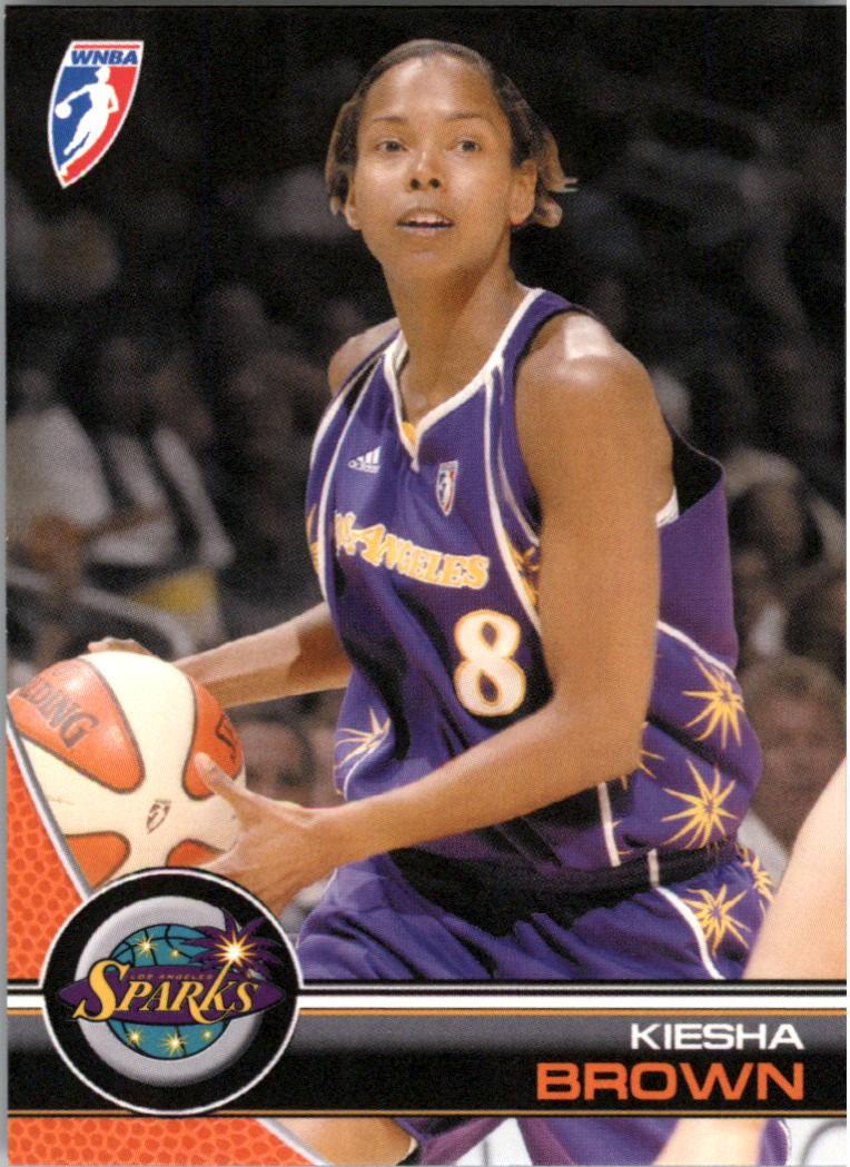2008 WNBA #54 Keisha Brown RC