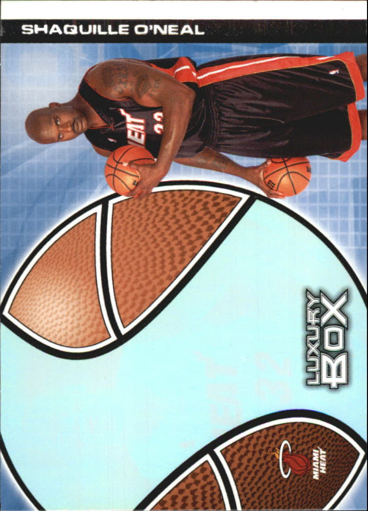 2004-05 Topps Luxury Box Pre-Production #PP4 Shaquille O'Neal