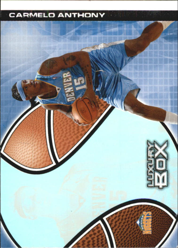 2004-05 Topps Luxury Box Pre-Production #PP6 Carmelo Anthony