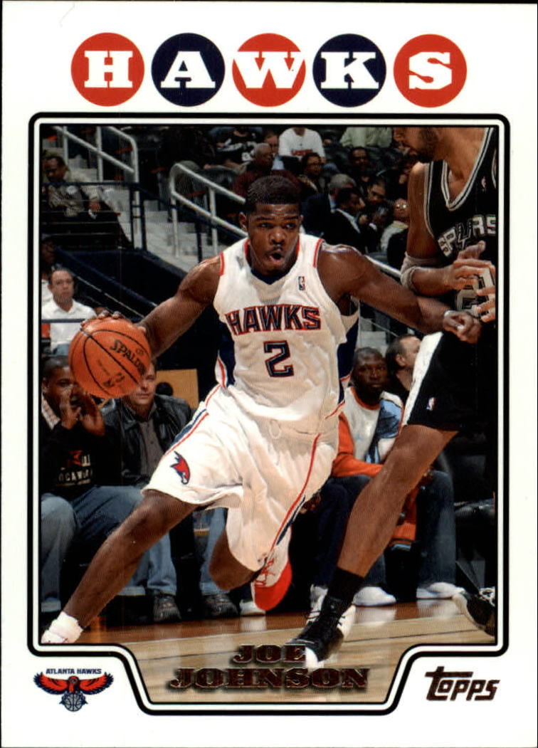 2008-09 Topps #2 Joe Johnson