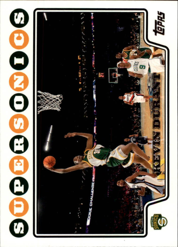 2008-09 Topps #156 Kevin Durant