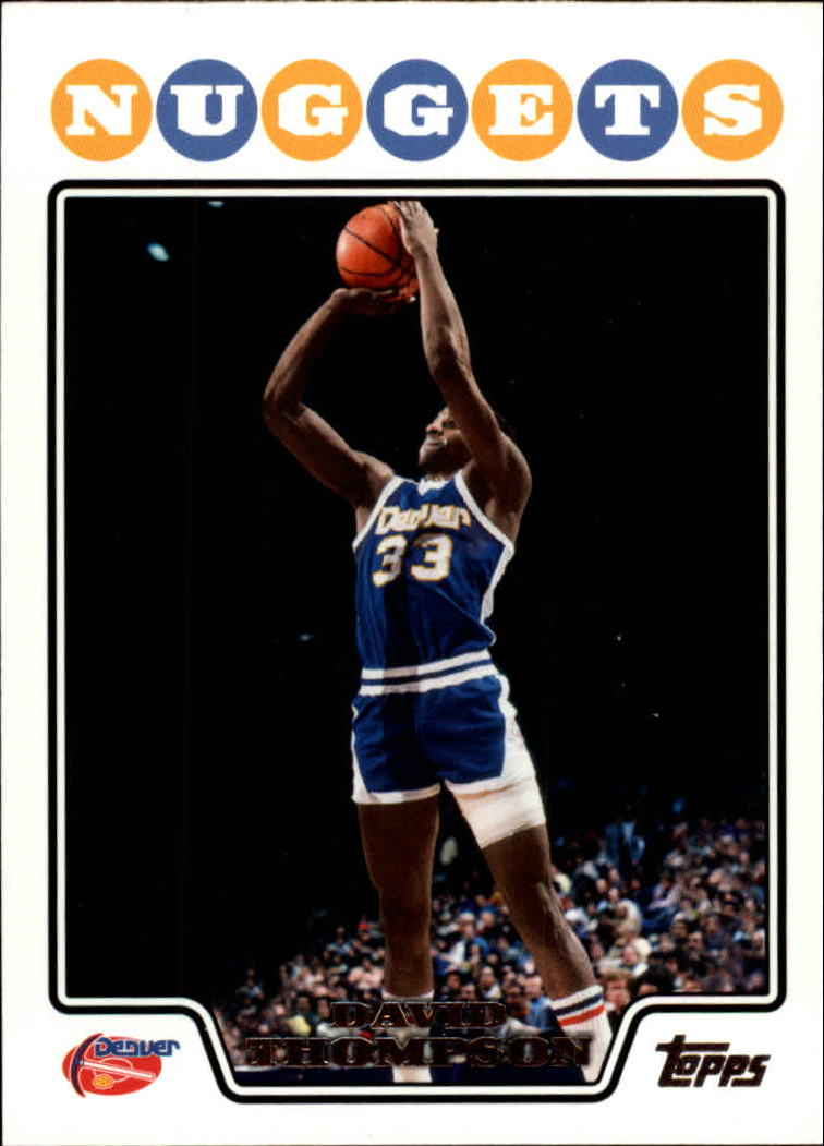 2008-09 Topps #170 David Thompson