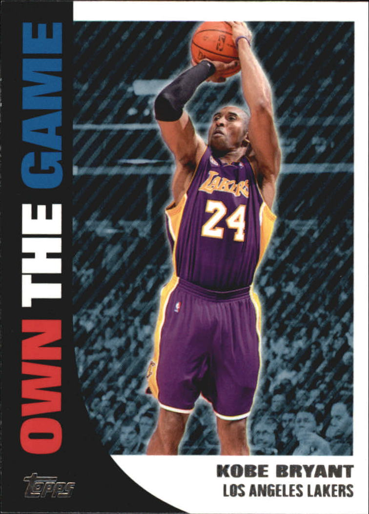 2008-09 Topps Own the Game #OTG16 Kobe Bryant